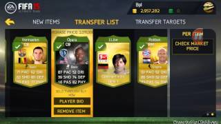 Fifa 15 android/ios transfer market is back