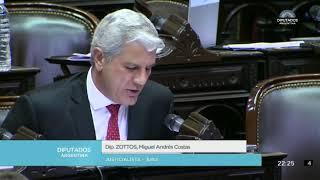 Video: Es inconstitucional pretender despenalizar el aborto por Ley sostuvo Zottos en el Congreso