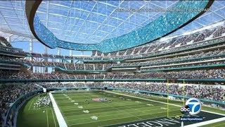 SoFi STADIUM TOUR: a look inside the Rams and Chargers new home field | ABC7