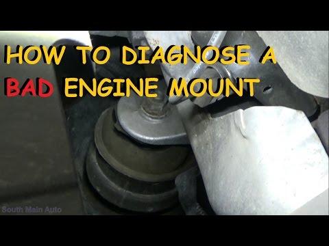 Bad Engine Mount – Diagnose and Repair