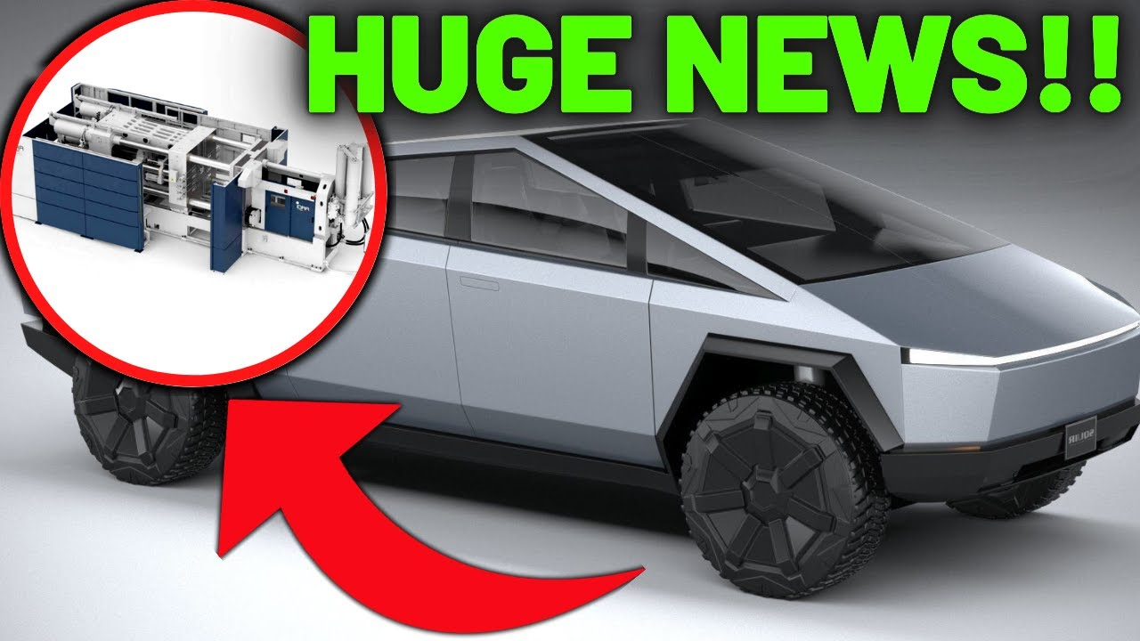 BIG NEWS on Tesla Cybertruck 2021 Production REVEALED