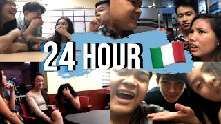 SPEAKING for 24H ONLY ITALIAN in the PHILIPPINES! | *24H CHALLENGE* (FAIL) [+ENG SUBS]
