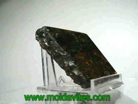 Meteorite: Pallasite (www.moldavites.com)