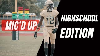 MIC'D UP || High school Football Edition