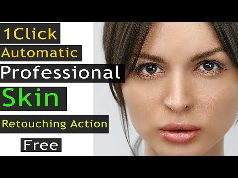 1 Click Automatic Professional Skin Retouching | Free Photoshop Action By Editor Belal