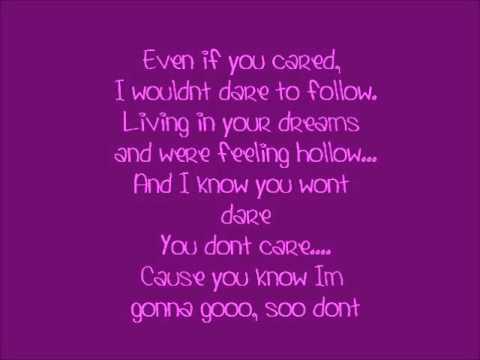 Alyssa Reid Go lyrics