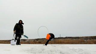 Первый лед 2019! Рыбалка на щуку - Жерлицы и блесна!