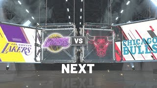 NBA 2K20 - Los Angeles Lakers Vs Chicago Bulls PS4 Gameplay Hall Of Fame