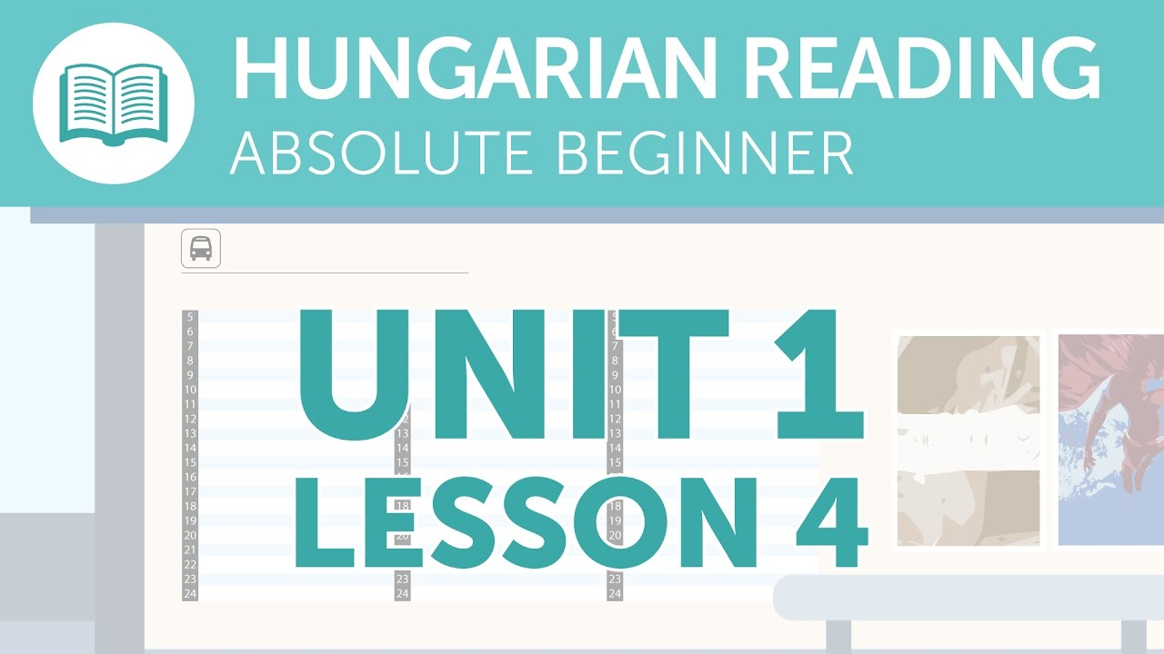 Hungarian Reading Practice for Absolute Beginners - A Hungarian Notice at the Station
