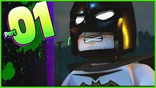 LEGO DC Super Villains Free Play Walkthrough Part 1 New Kid 100% (co-op)