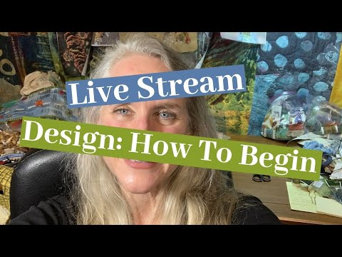 Design: How to Begin - Live From New York City!