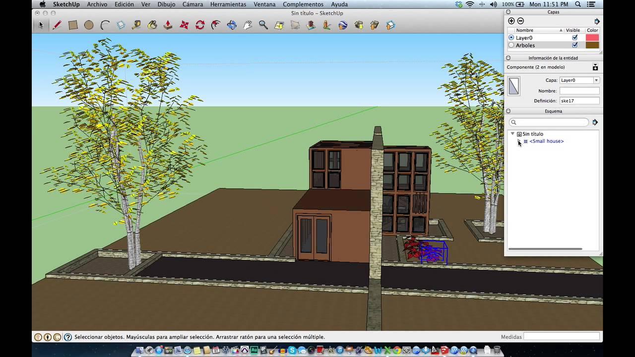 Como trabajar con capas en google sketchup youtube for Mobilia para sketchup 8