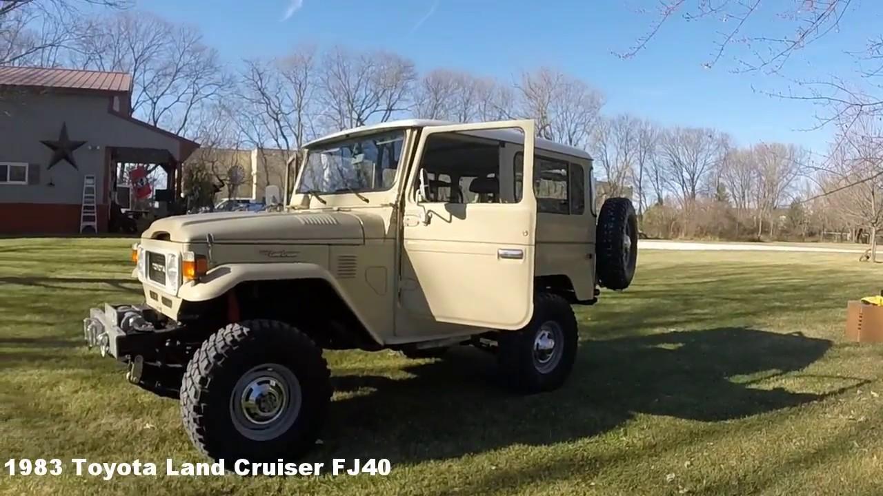 1983 Fj40 12117 Youtube Toyota Land Cruiser Nation