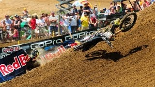 Biggest Crashes from Muddy Creek - Villopoto / Canard / Roczen / Tomac