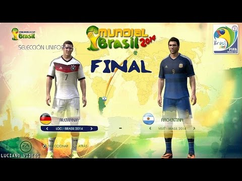 FIFA World Cup Brasil 2014 FINAL Alemania vs. Argentina  Match Prediction