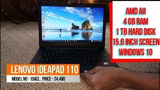 Lenovo Ideapad 110 | Lenovo IP 110 - 15ACL Review | AMD A8 Laptop | Best Budget laptop Under 25000 |