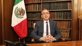 Mensaje del Embajador Juan Manuel Gómez Robledo a la Comunidad Mexicana en Francia
