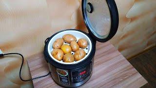 Как сварить картошку целую в мундире в мультиварке Редмонд