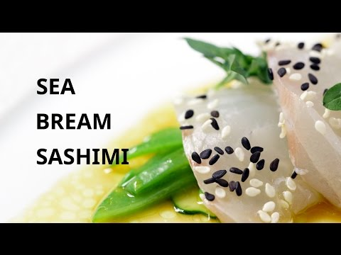 Chef David Kinch Makes Sea Bream Sashimi for Chef Eric Ripert