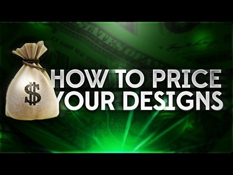 How To Price Your Designs! (Get Clients As A Designer)