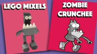 LEGO Mixels - Zombie Crunchee - Stop Motion Build (How to Build)