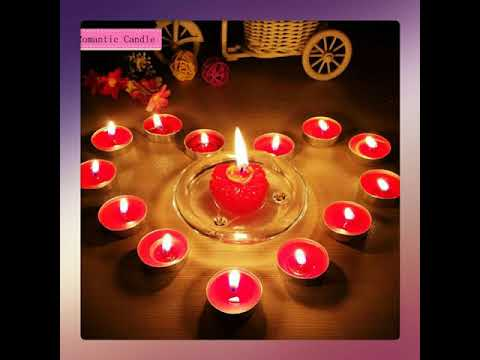 Good Night Candle Lights Wishes Youtube
