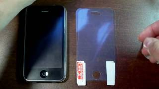 AT&T Anti-Glare Screen Protectors for iPhone 3G/3GS