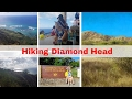 I can climb a mountain!  Hiking Diamond Head Hawaii