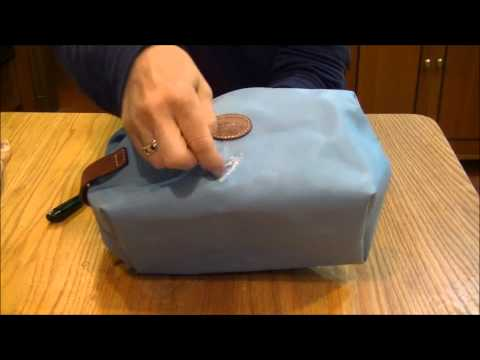 How To Remove Ink From a Longchamp Bag Using Amodex