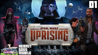 """GENERIK BOBBAFETT!!!"" Star Wars Uprising Part 1!!! iOS Android 1080p HD walkthrough"