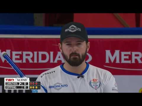 Reid Carruthers vs. John Epping - 2016 Home Hardware Canada Cup of Curling - Mens Semifinal