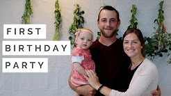 Birthday Party Vlog/ Huge Announcement for Our Family