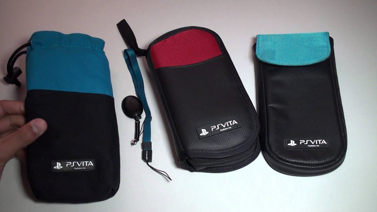 PS VITA 4GAMERS CASES / POUCHES - Clean n Protect Kit / Pouch - Travel Case  - Review
