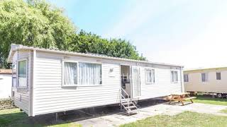 8 berth caravan for hire at the Orchards Haven park