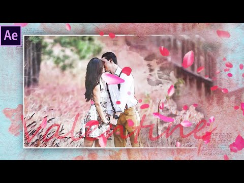Valentine Special Slideshow In After Effect | After Effects Tutorial | Effect For You