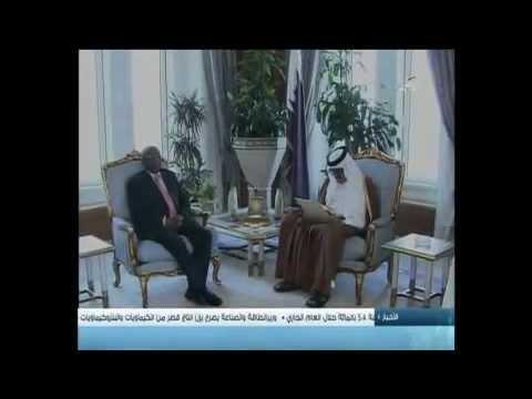 Qatar Emir recieves letter from Sudanese president