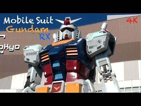 Mobile Suit Gundam Rx Odaiba Tokyo - Travel in Japan - Il Comico in Giappone HD