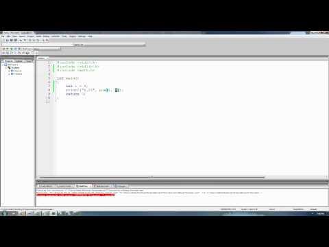 C Programming Tutorial 60, Math Functions pt.1