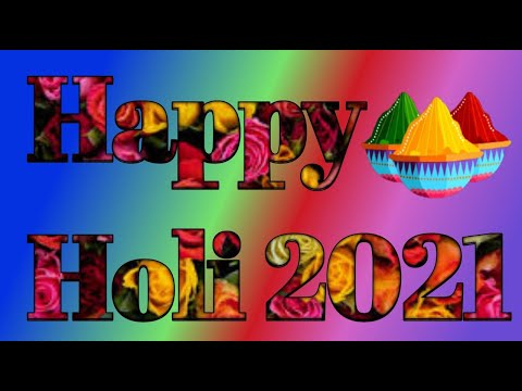 Happy Holi 2022 | Happy holi WhatsApp status | Happy holi status 2022