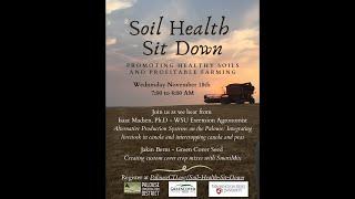 Soil Health Sit Down   November 18, 2020