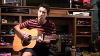 cover why not me  Enrique Iglesias acoustic guitar