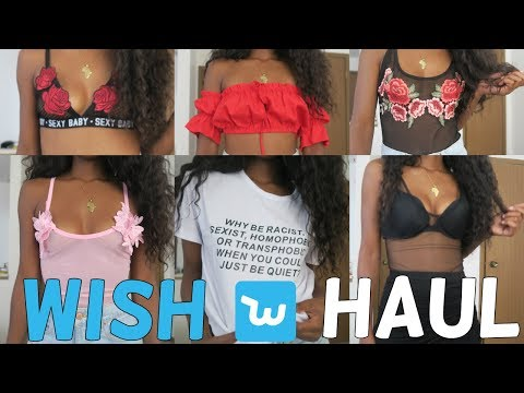 HUGE Under $10 Wish App Try On Haul | Is it a SCAM or the new Aliexpress??!!?