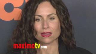 Minnie Driver at BOSS Premiere Arrivals - STARZ New TV Series