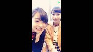 20161126 原宿駅前パーティーズ LINELIVE 中田陽菜子(原宿乙女)、中野...