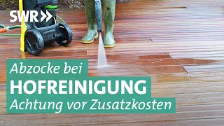 Reinigungs-Masche: Wie Hausbewohner abgezockt werden