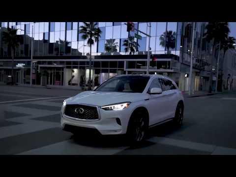 The new INFINITI QX50 with LA Drive