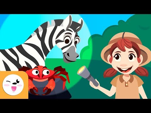 Wild animals, farm animals and aquatic animals for kids - Vocabulary for kids