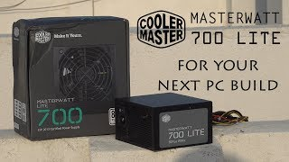 Cooler Master MasterWatt Lite 700W : Power Supply For Next Gen Gamers