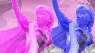 Frozen Melhores Momentos #8 - Aprenda as Cores com Frozen, Elsa Dublado - Vídeo Educativo Crianças!