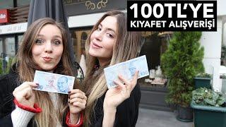 100 TL'ye Kombin Challenge!!!